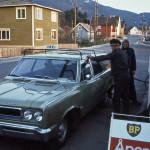 55 1973 Bensinstasjon